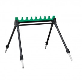 SUPPORT SENSAS KIT GREEN 4 PIEDS 8 LOGES