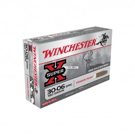 MUNITIONS BALLES WINCHESTER SPR SUPER-X 30-06SP