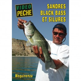 DVD SANDRES BLACK BASS SILURES