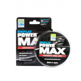 NYLON PRESTON REFLO POWER MAX NOIR 150 M