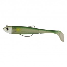 LEURRE DAM EFFZETT KICK-S MINNOW WEEDLESS PADDLE TAIL 29 G