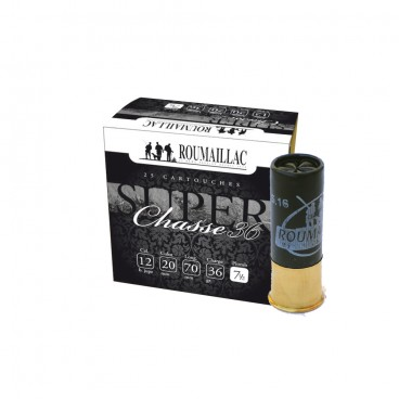 CARTOUCHES ROUMAILLAC SUPER CHASSE 36