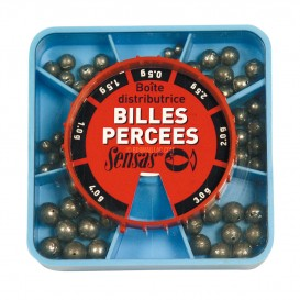 BILLES PERCEES