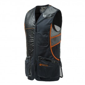 GILET SPORTING BLACK ORANGE