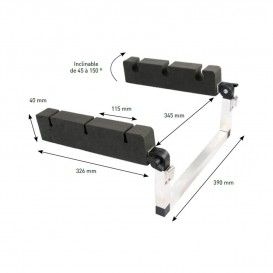 PORTE CANNES INCLINABLE POUR FLOAT TUBE