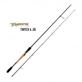 CANNE SPINNING TERMINATOR TWITCH & JIG