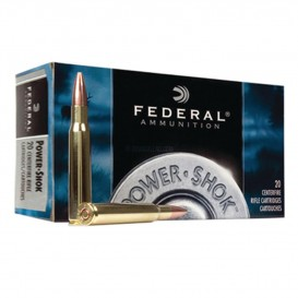 MUNITIONS BALLES FEDERAL POWER SHOK 308WINCHESTER