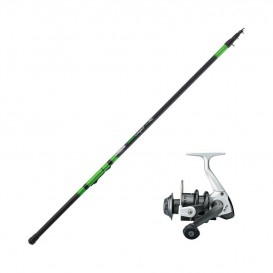 ENSEMBLE CANNE VARIOCOMPACT RC + MOULINET BLACK TROUT
