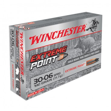 MUNITIONS BALLES WINCHESTER 30-06 EXTREME POINT