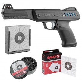 PACK PISTOLET A PLOMB P-900 IGT + CIBLES + PORTE CIBLE + PLOMBS