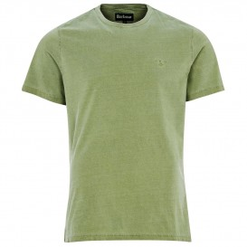 T-SHIRT GARMENT DYED OLIVE