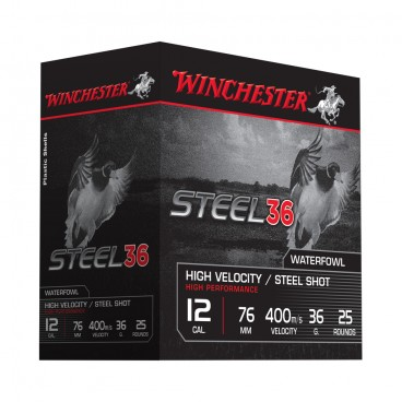 CARTOUCHES WINCHESTER STEEL 36
