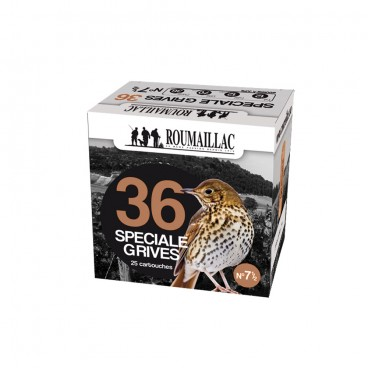 CARTOUCHES ROUMAILLAC SPECIALE GRIVES 36