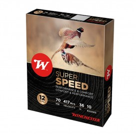 CARTOUCHES WINCHESTER SUPER SPEED 2 12/70 36G